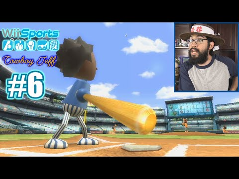 GABE CRUSHED THIS BALL TO THE SECOND DECK!!! | Wii Sports | Baseball #6