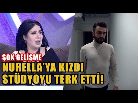 OLAY | Kemal Doğulu Nur Yerlitaş'a Kızıp Stüdyoyu Terk Etti!