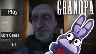 Bonnie Plays GRANDPA ( Horror Game )!!!