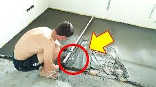 как сделать стяжку пола в квартире своими руками