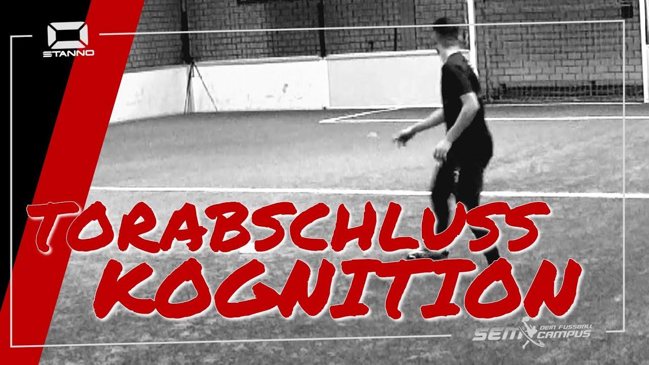 Torabschluss mit akustischer Kognition 1 - SEM Fußballtraining - Daniel Aserov