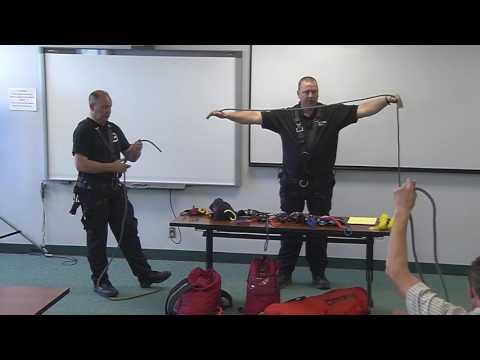 High Angle Bridge Rescue Training