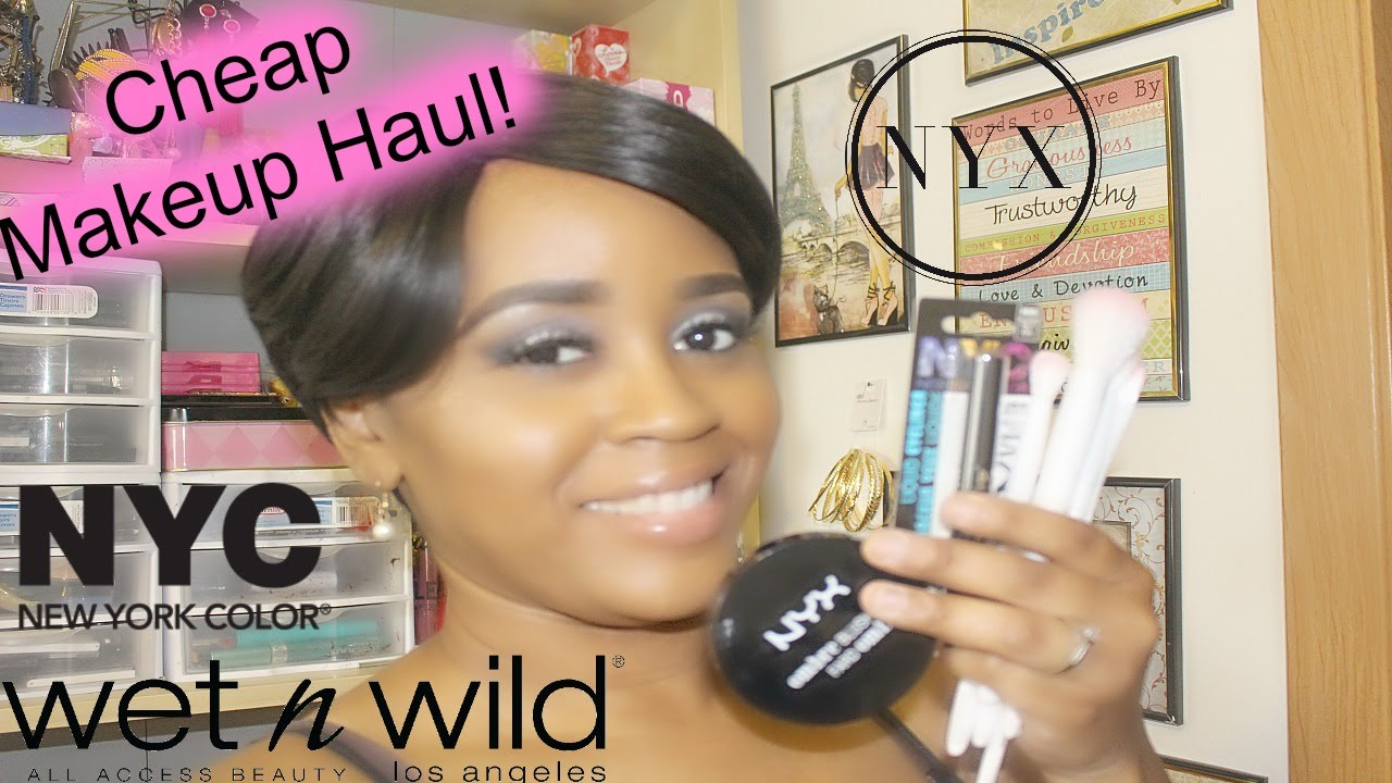 Cheap Makeup Haul Nyx Wetnwild Lalors Youtube
