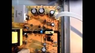 TV Philips 42 Led Piscando e Não Liga (Resolvido)