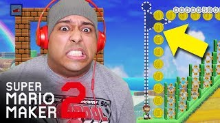 THIS EXPERT LEVEL ALMOST KILLED ME LITERALLY!!! [SUPER MARIO MAKER 2] [#19]