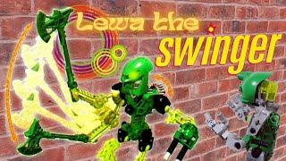 BIONICLE: LEWA THE SWINGER!