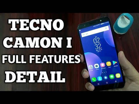 TECNO CAMON I Full Features Detail