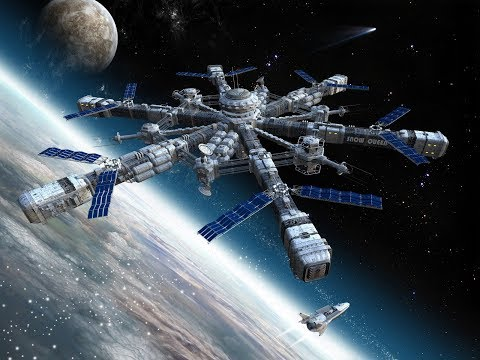 US and RUSSIA to build Space Station that orbits the MOON!