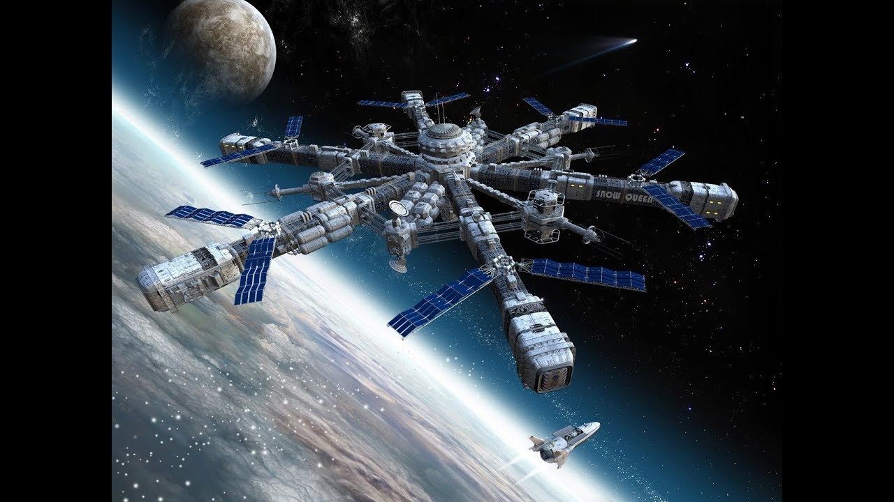 moon space station - photo #32