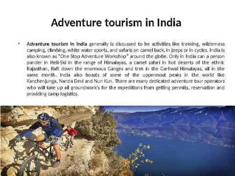 Adventure tourism in India- travel companies in india