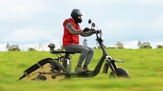 Гусеничный электро скутер! Эксклюзивище!
