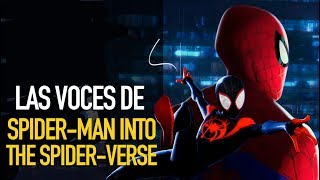 Entrevista: Voces Spider-Man Into the Spider-Verse