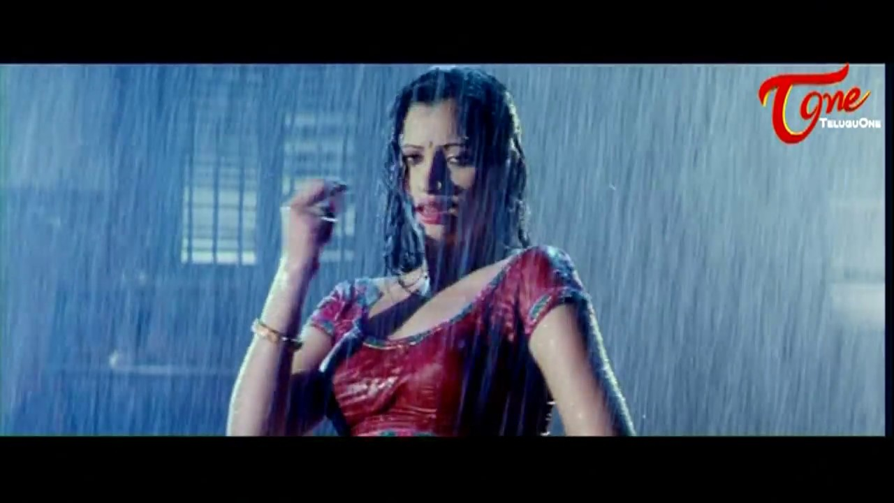 Navaneet Kaurs Wet Saree Rain Song Best Romantic Scenes Of Tollywood 17