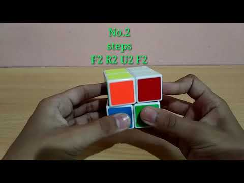 Cool patterns on 2x2 Rubik's Cube