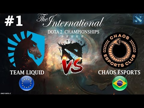 МАТУМБА против БЫВШЕЙ КОМАНДЫ | Liquid Vs Chaos #1 (BO2) The International 2019