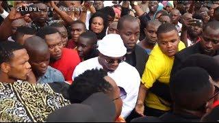 DIAMOND Alivyobeba Mwili wa Majuto Leo