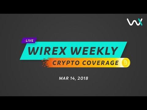A.I. Blockchain cars & FBI vs. Crypto; Wirex Crypto Coverage 14/03/2018