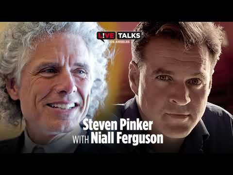 Steven Pinker with Niall Ferguson at Live Talks Los Angeles