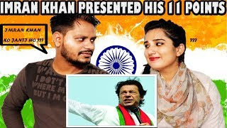 Indian Reaction On Imran khan presenting his 11 points | krishna views
