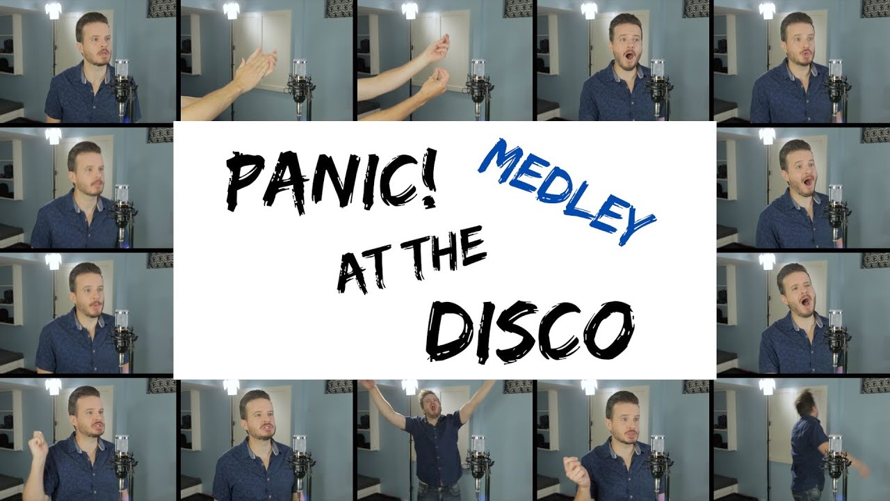 Panic! At The Disco (ACAPELLA MEDLEY) - High Hopes, I Write Sins Not Tragedies, Victorious & More!
