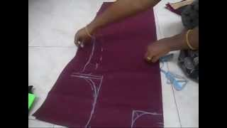 Repeat youtube video Kameez  cutting easy method step by step (DIY)