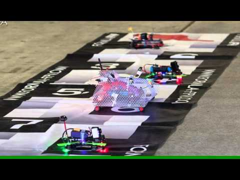 DZB/MCIB goes FormulaFPV Garage Racing @ Jaarbeurs