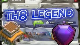 😱NEW TH8 Legend Epic Attacks And Defence Replays : NU-MA (Town Hall 8 Legend) | Clash Of Clans 2018