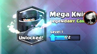 Mi-a picat Mega Knight din Legendary Chest