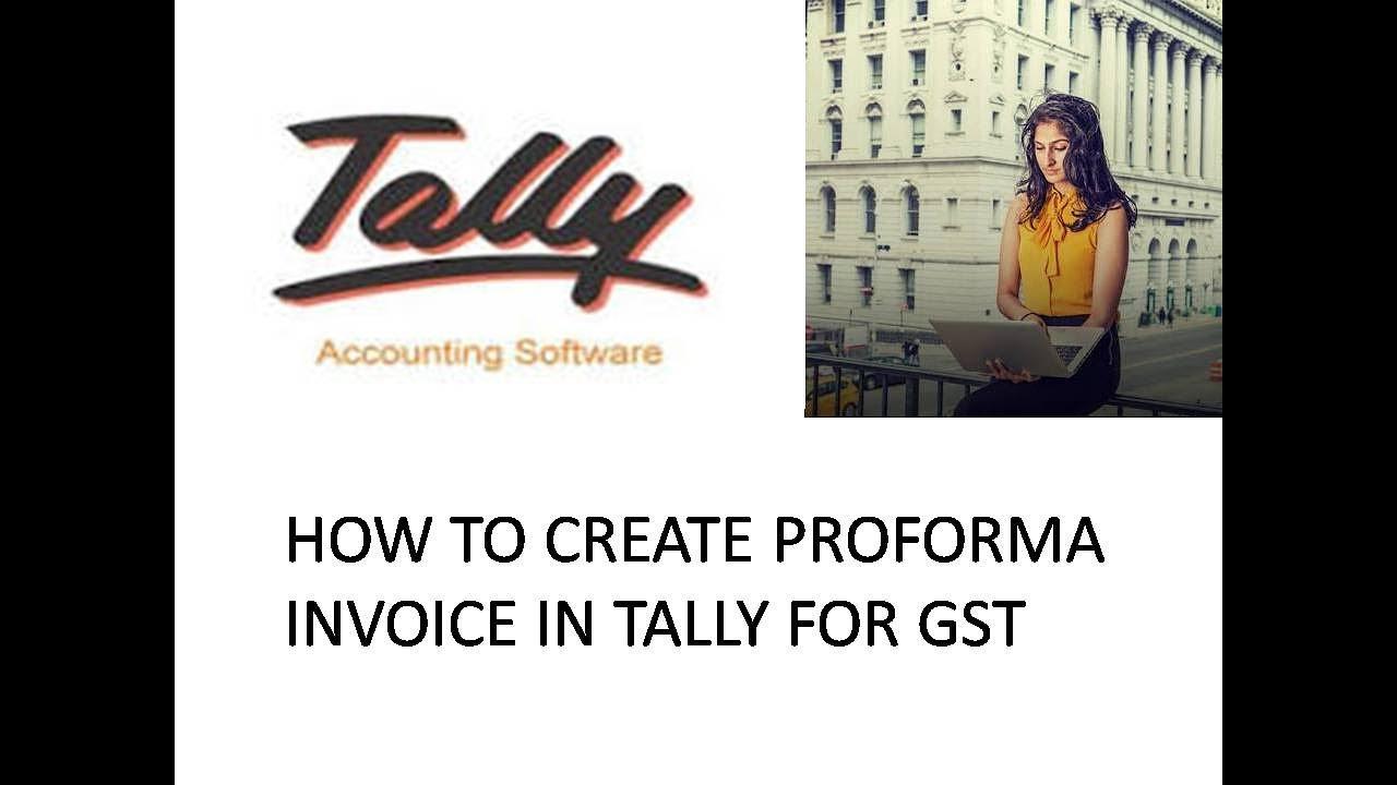 how to make proforma invoice