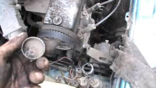 Как заменить пробки в блоке не снимая двигателя в ВАЗ 21083