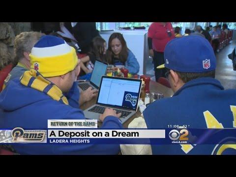 LA Rams Launch 2016 Season Ticket Deposit Campaign