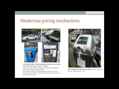 The video of that SUTP webinar on how to improve on-street parking management