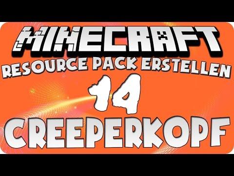 Minecraft Resource Pack Erstellen #14 [HD+] [Deutsch] - Creeper (Kopf)