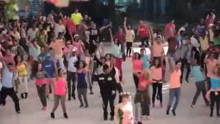 "Flashmob (Officiel) ""concert Saad LAMJARRED"" le 21 Juin 2014 au Morocco Mall !!"