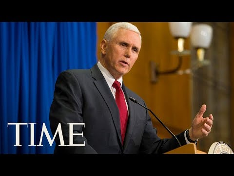 Mike Pence Delivers 2017 Commencement Address At The U.S. Naval Academy | TIME
