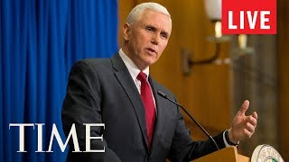 LIVE: Mike Pence Delivers 2017 Commencement Address At The U.S. Naval Academy | TIME