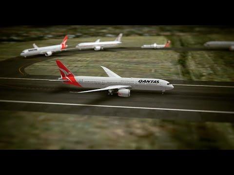 Infinite Flight B787 - 9 Qantas Airlines Sydney region