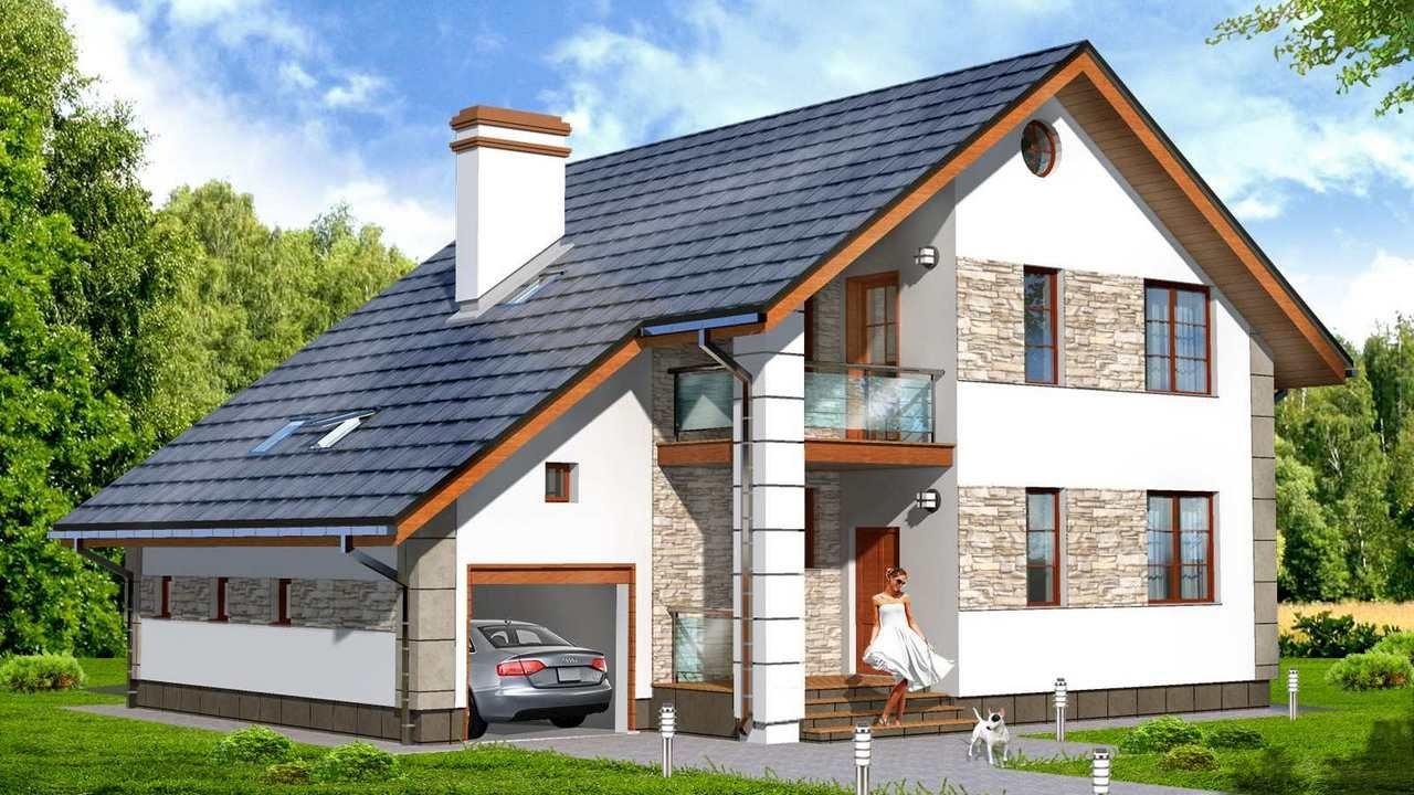 Проекты домов с гаражом – предусмотрите все! - YouTube