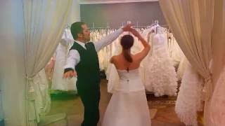 Test your wedding dress for dance-ability