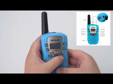 Retevis RT388 best selling kids walkie talkie