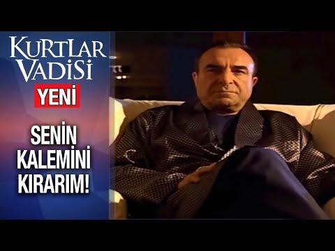 Karahanlı'dan Sert Uyarı: Senin Kalemini Kırarım!  - Kurtlar Vadisi   2019 - YENİ