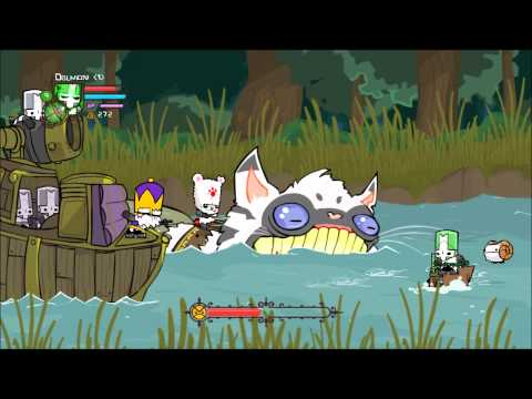 Castle Crashers - Catfish Boss