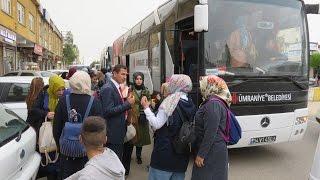 Üniversite Öğrencileri Midyat'a Hayran Kaldı