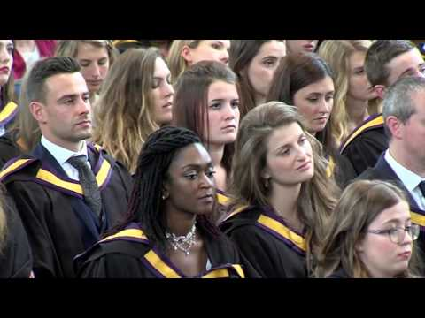 Inspirational acceptance speech at Manchester University
