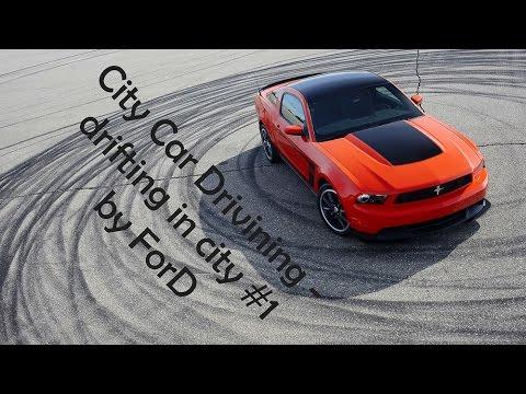 [ City Car Driving 1.4.0 ] drifting BMW M3 E36, BMW M5 E39, Ford Mustang [ drift ] Logitech G27