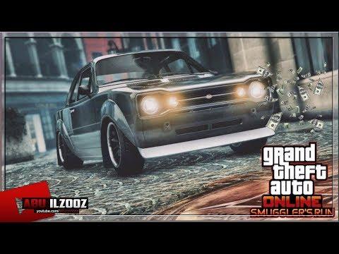 GTA ONLINE 50,000,000$ SMUGGLER'S RUN SPENDING SPREE -VAPID RETINUE FULL REVIEW- (GTA V DLC)