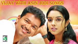 Vijay & Asin Jodi Super Hit Popular Audio Jukebox