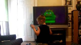 Yo Gabba Gabba Dance by my lil 5yr old boy