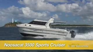 Noosa Cat 3500 Sports Cruiser with 350hp V8 Yamaha outboards