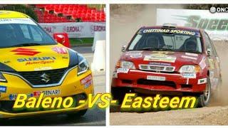 Maruti Suzuki Racing Baleno VS Easteem Video